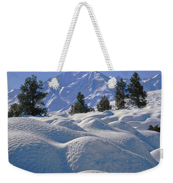 2m6402 Mt. Tom From Sherwin Grade Weekender Tote Bag