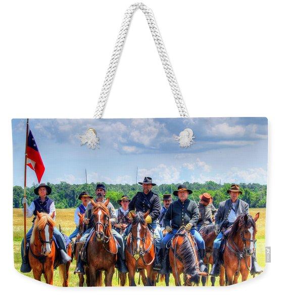 2nd Us Cavalry  Weekender Tote Bag