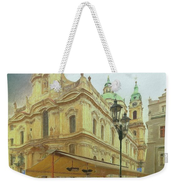 2nd Work Of St. Nicholas Church - Old Town Prague Weekender Tote Bag