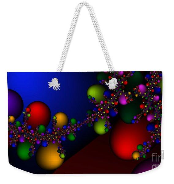 2x1 Abstract 330 Weekender Tote Bag