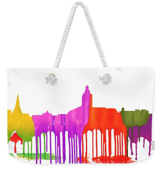 Annapolis Maryland Skyline      Weekender Tote Bag