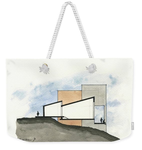 Architectural Drawing Weekender Tote Bag