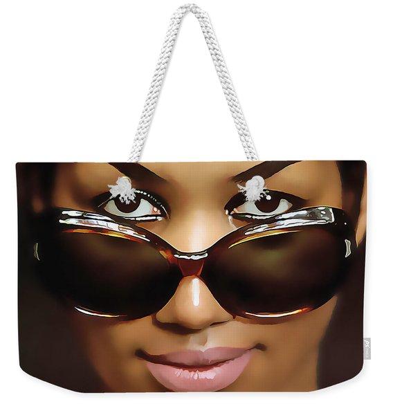 Aretha Franklin Weekender Tote Bag