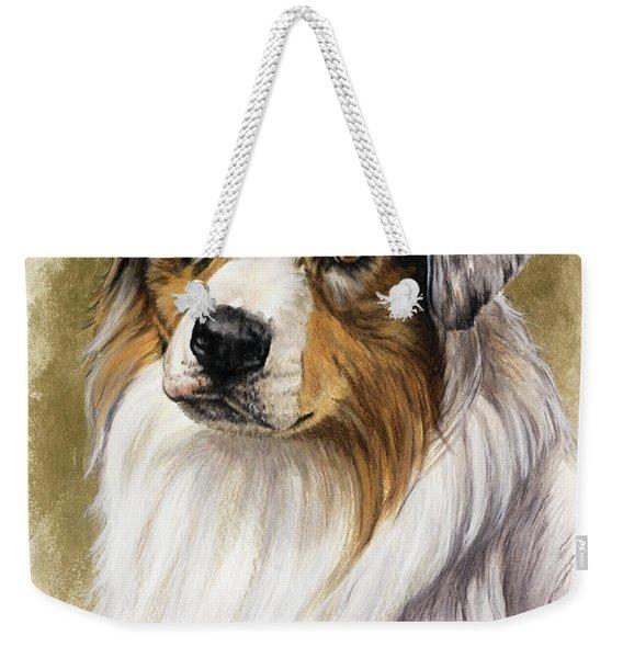 Australian Shepherd Weekender Tote Bag