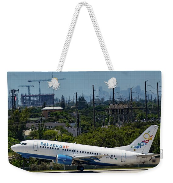 Bahamas Air Weekender Tote Bag
