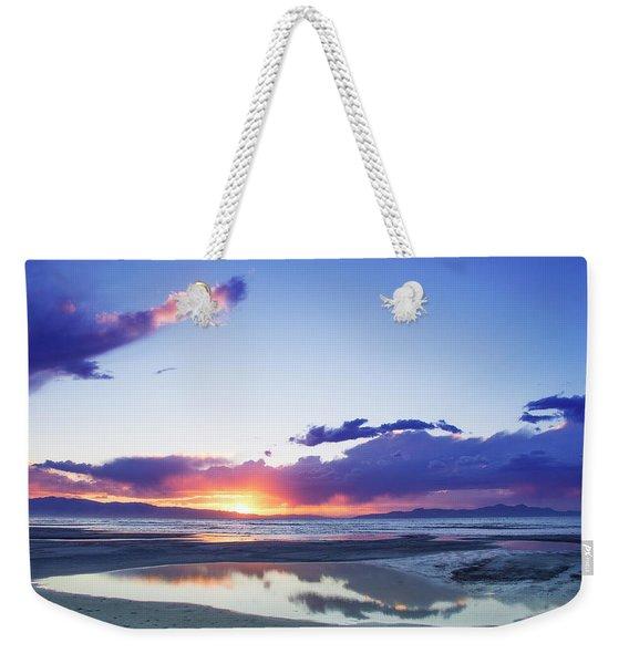 Beautiful Sunset Weekender Tote Bag