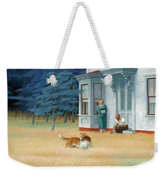 Cape Cod Evening Weekender Tote Bag