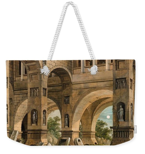 Cappricio With Figural Staffage Weekender Tote Bag