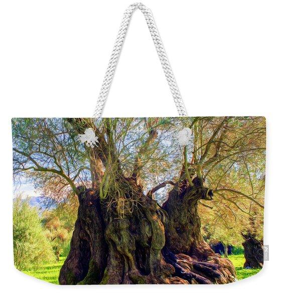 Centuries-old Olive Tree Weekender Tote Bag