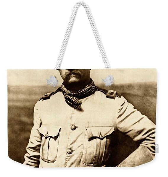 Colonel Theodore Roosevelt Weekender Tote Bag
