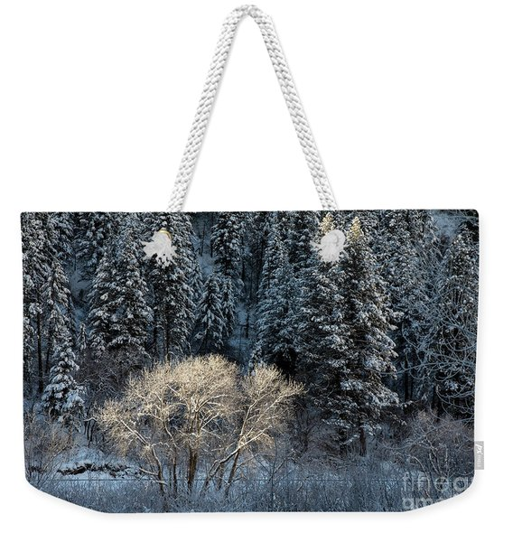 Colorado Winter Weekender Tote Bag