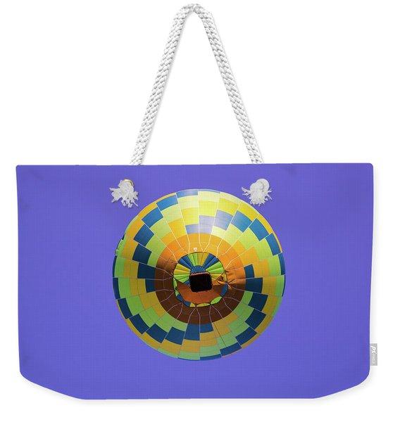 Colorful Abstract Hot Air Balloon Weekender Tote Bag