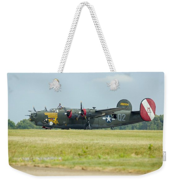 Consolidated B-24j Liberator Weekender Tote Bag