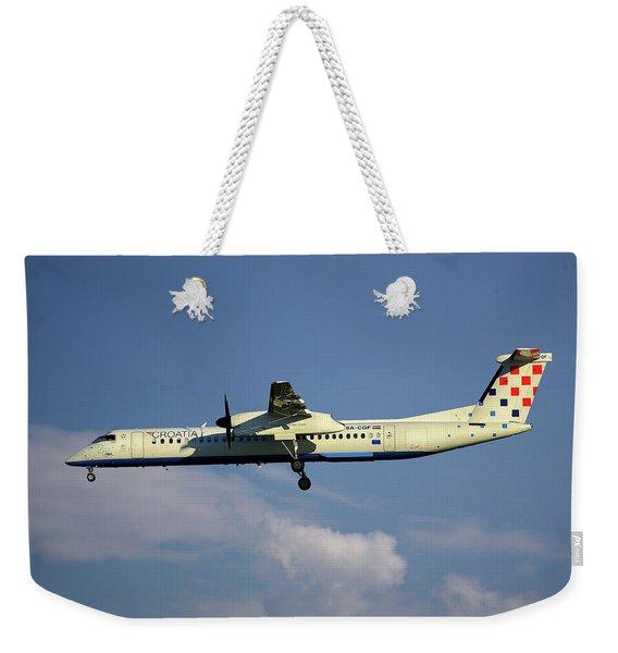 Croatia Airlines Bombardier Dash 8 Q400 Weekender Tote Bag