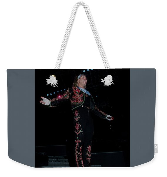 David Lee Roth Weekender Tote Bag