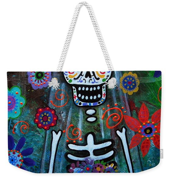 Day Of The Dead Bride Weekender Tote Bag