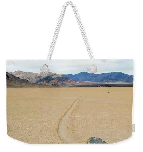 Death Valley Racetrack Weekender Tote Bag