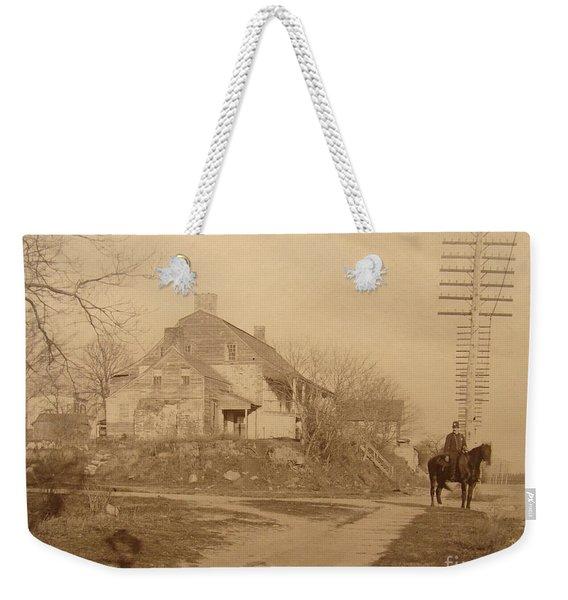 Dyckman Farmhouse  Weekender Tote Bag