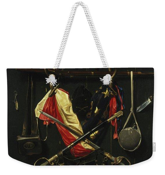 Emblems Of The Civil War Weekender Tote Bag