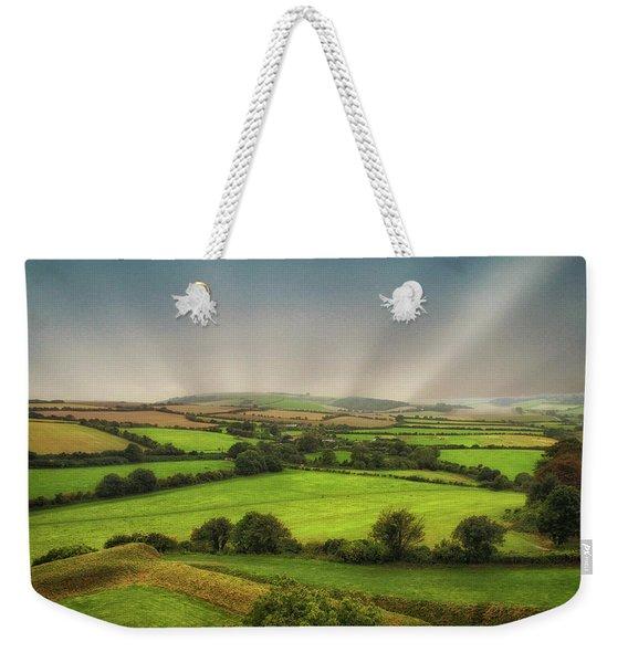 English Countryside Weekender Tote Bag