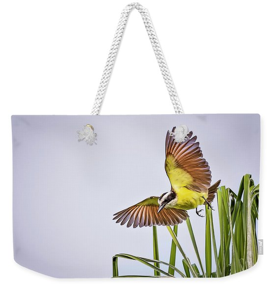 Great Crested Flycatcher Weekender Tote Bag