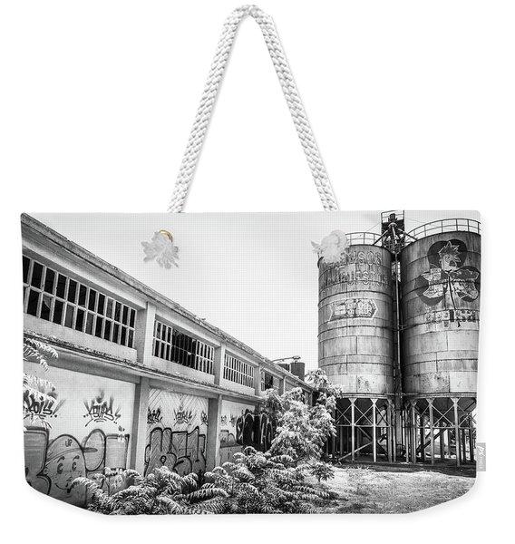 Industrial Silos. Weekender Tote Bag