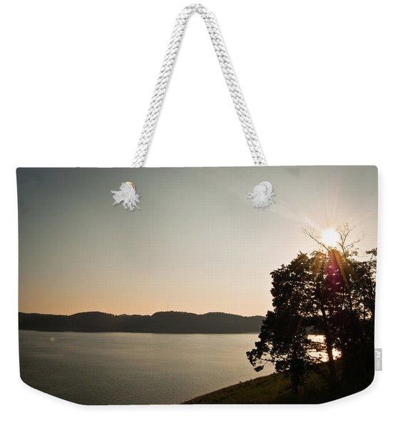 Lake Cumberland Sunset Weekender Tote Bag