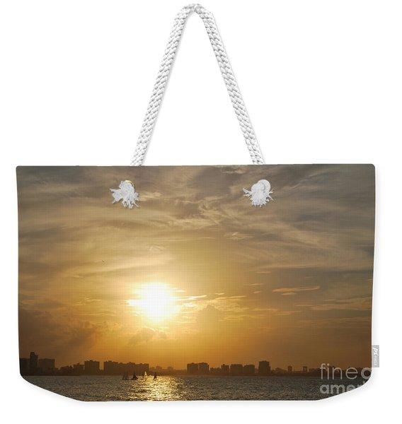 Loyda's Point Of View Weekender Tote Bag