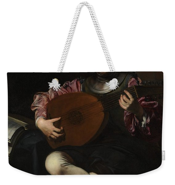 Lute Player Weekender Tote Bag