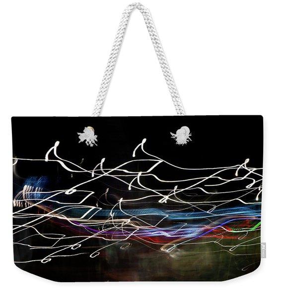 Magic Color Weekender Tote Bag