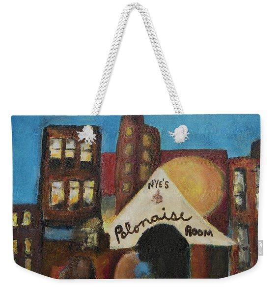 Nye's Polonaise Room Weekender Tote Bag