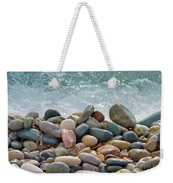 Ocean Stones Weekender Tote Bag