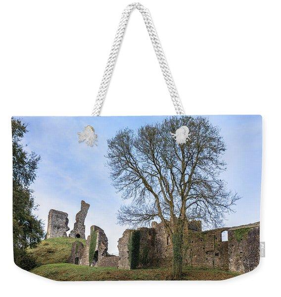 Okehampton Castle - England Weekender Tote Bag