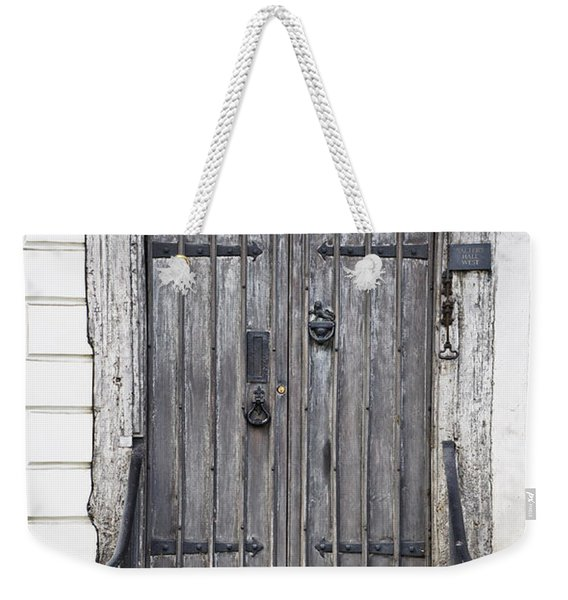 Old Doorway Weekender Tote Bag