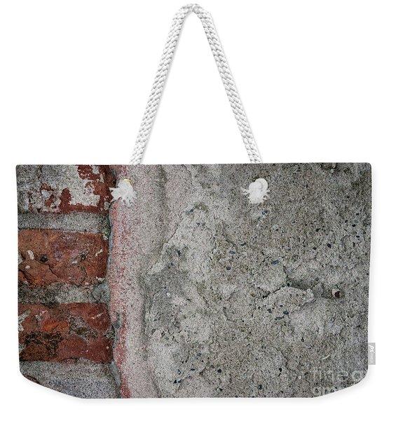 Old Wall Fragment Weekender Tote Bag