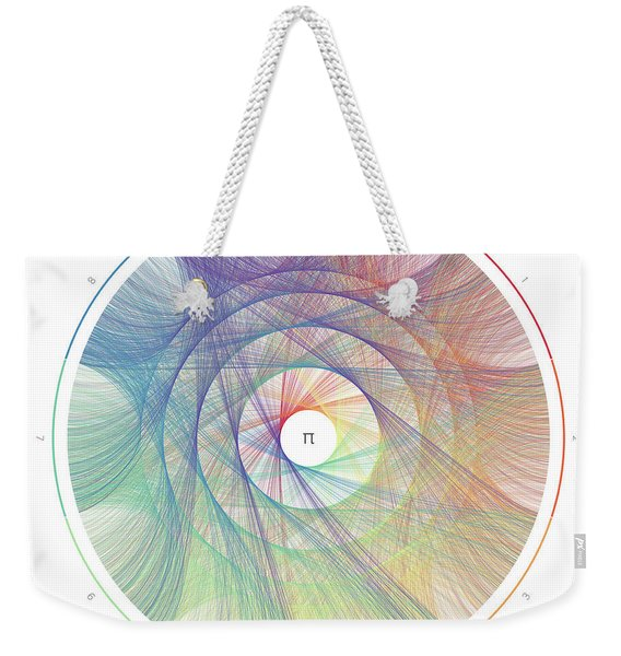 Pi Transition Paths Weekender Tote Bag