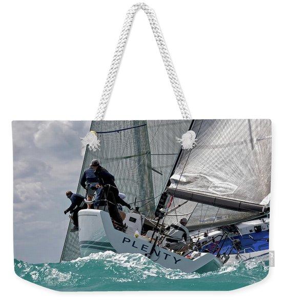 Plenty Weekender Tote Bag