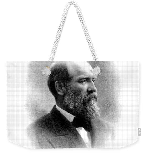 President James Garfield Weekender Tote Bag