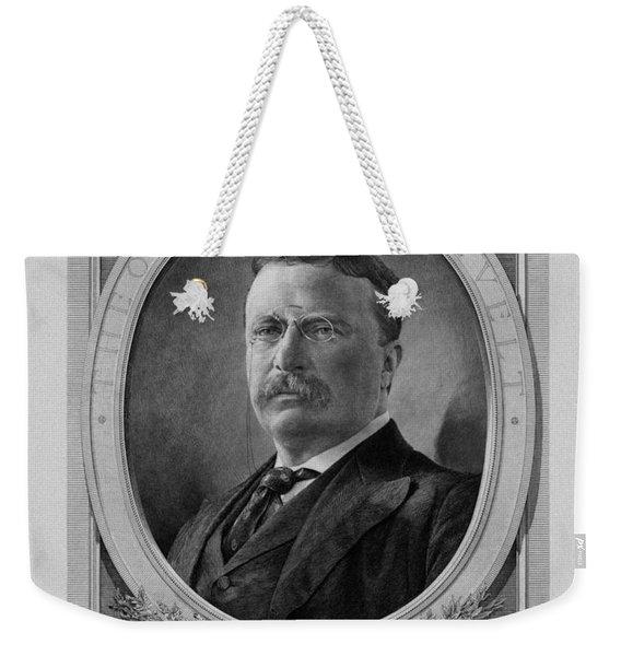President Theodore Roosevelt Weekender Tote Bag