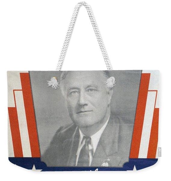 Presidential Campaign, 1940 Weekender Tote Bag