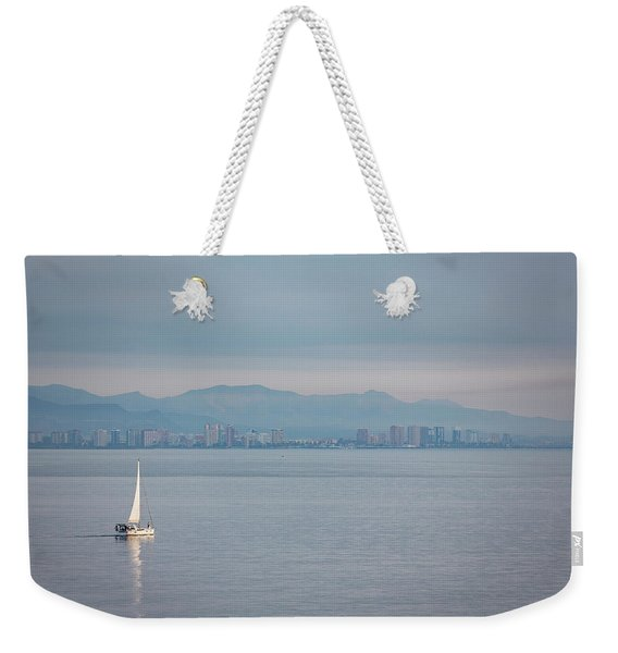 Sailing To Shore Weekender Tote Bag