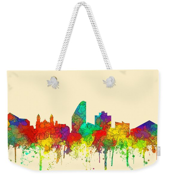 San Jose California Skyline Weekender Tote Bag