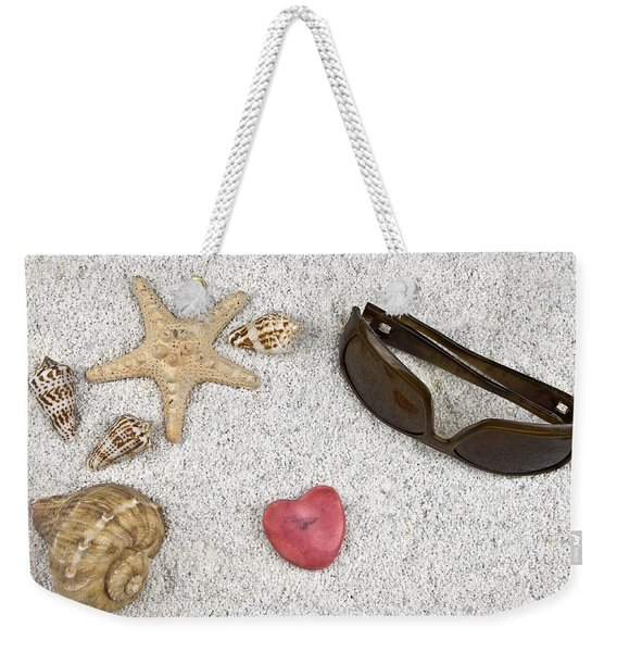 Seastar And Shells Weekender Tote Bag