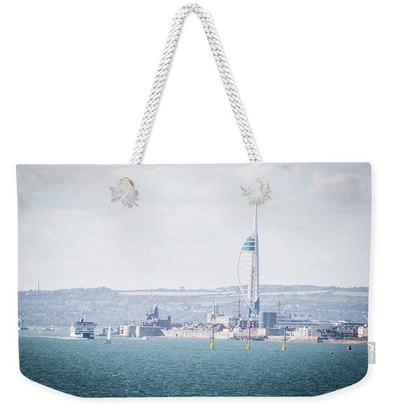 Spinnaker Tower Weekender Tote Bag