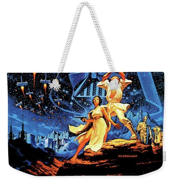 Star Wars Episode Iv - A New Hope 1977 Weekender Tote Bag
