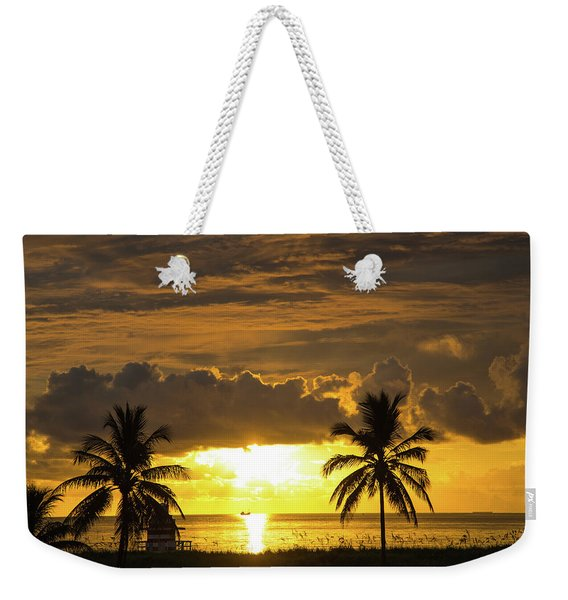 Sunrise Miami Beach Weekender Tote Bag