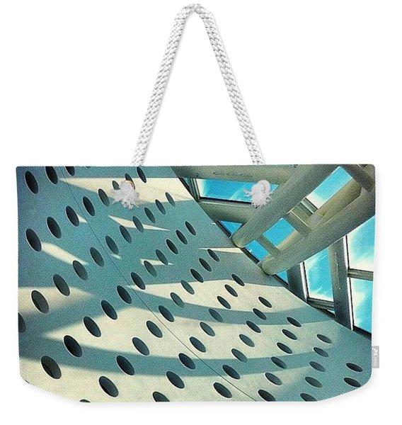 #tbt #museum Of #modern #art San Weekender Tote Bag
