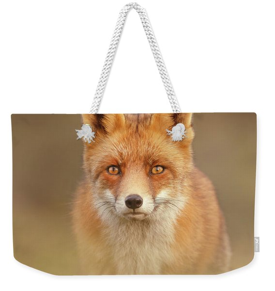 That Foxy Face Weekender Tote Bag