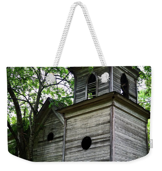 The Abandoned Church Weekender Tote Bag