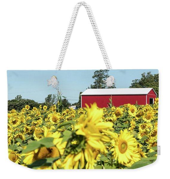 The Red Barn Weekender Tote Bag